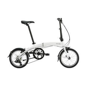 2020モデル Curve D7 カーブ フロスティホワイト (153-188cm) 折畳自転車