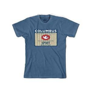 COLUMBUS SPIRIT Tシャツ サイズS スチールブルー