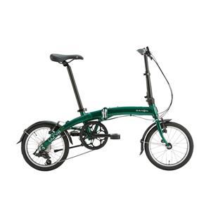2020モデル Curve D7 カーブ アイビーグリーン (153-188cm) 折畳自転車