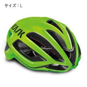 PROTONE プロトーン ライム サイズL ヘルメット