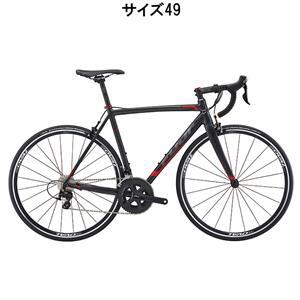 2016年モデル ROUBAIX ルーベ 1.3 マット ブラック/レッド サイズ49 完成車 【ロードバイク】