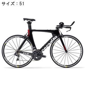 P3 ULTEGRA R8000 11S ブラック/レッド サイズ51 ロードバイク