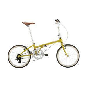 2020モデル Boardwalk D7 ボードウォーク マスタード (142-193cm) 折畳自転車