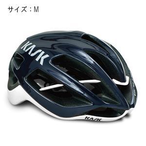 PROTONE プロトーン ネイビーブルー/ホワイト サイズM ヘルメット