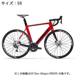 S3 Disc ULTEGRA R8020 11S レッド/ネイビー サイズ56 ロードバイク
