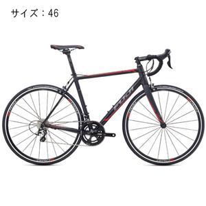 2017モデル ROUBAIX 1.5 マットブラック/レッド サイズ46 【自転車】