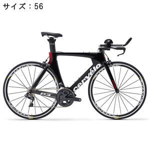 P3 ULTEGRA R8000 11S ブラック/レッド サイズ56 ロードバイク