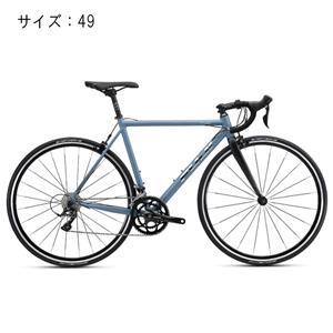 2018モデル NAOMI ナオミ マットグレー/ブルー サイズ49(165-172cm)ロードバイク