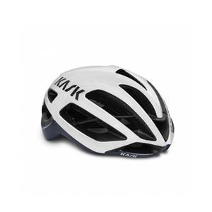 2019モデル PROTONE ホワイト/ネイビーブルー サイズL ヘルメット