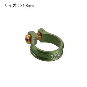 MTB スクリュークランプ SC11 31.8mm グリーン