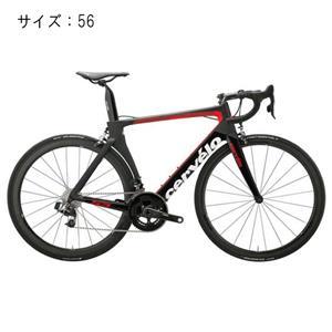 2018モデル S5 Sram eTAP ブラック/レッド サイズ56(179-184cm)ロードバイク