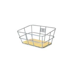 AL-N03P ウッド ボトム バスケット サイズL シルバー