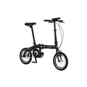 ULTRA LIGHT ウルトラライト E-BIKE AL-FDB140E ブラック 14インチ 折畳 電動自転車