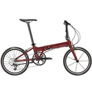 2021 Deftar デフター ディープレッド (142-193cm) 折りたたみ自転車