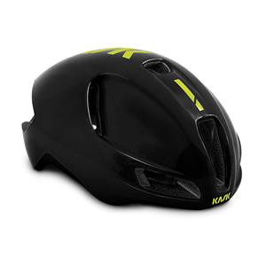 2019モデル UTOPIA ブラック/イエロー FLUO サイズS ヘルメット