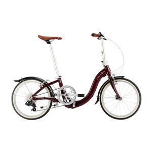 2020モデル Ciao チャオ マルーン (142-193cm) 折畳自転車