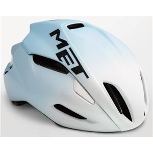 MANTA HES マンタ ホワイト/ライトブルー サイズM(54/58cm) ヘルメット