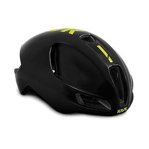 2019モデル UTOPIA ブラック/イエロー FLUO サイズM ヘルメット