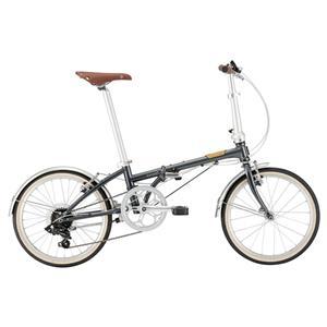 2021 Boardwalk D7 ボードウォーク ヴィンテージブラック (142-193cm) 折りたたみ自転車