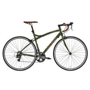 2016モデル LGS-CR07 DARK GREEN ダークグリーン  完成車 【ロードバイク】【自転車】